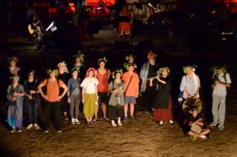 ArgolidaPortal.gr Λύκειο Επιδαύρου παράσταση ''Βάκχες'' στο Αρχαίο Στάδιο Επιδαύρου