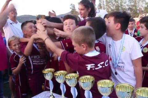 ArgolidaPortal.gr Απονομές Πρωτάθλημα Παμπαίδων της ΕΠΣ Αργολίδας