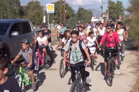ArgolidaPortal.gr Νέα Κίος -Ποδηλατοπορεία στον Ερασίνο ποταμό
