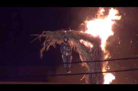 ArgolidaPortal.gr Έκαψαν τον Βαραββά στη Ν. Κίο