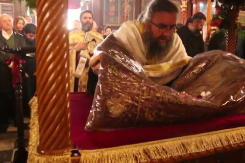 ArgolidaPortal.gr Ναύπλιο: Αποκαθήλωση του Εσταυρωμένου στον Άγιο Γεώργιο