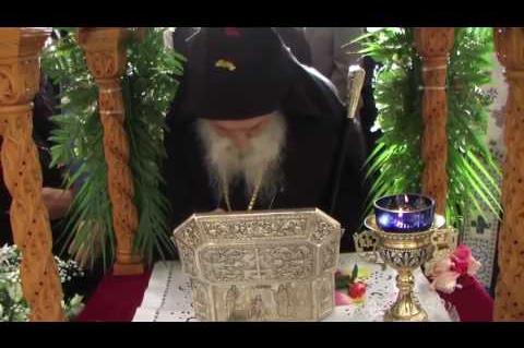 ArgolidaPortal.gr Αργολίδα-Λευκάκια-Τελετή υποδοχής των λειψάνων του Αγίου Λουκά επισκόπου Κριμαίας