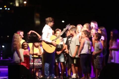 ArgolidaPortal.gr Συναυλία στην παραλία Κιβερίου με τον Άγγελο Ανδριανό