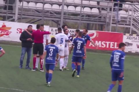 ArgolidaPortal.gr Ερμής Κιβερίου-Πανθηραϊκός 0-0// γκολ που ακυρώθηκε