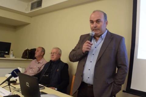 ArgolidaPortal.gr Τολό - Ομιλία του Β. Σιδέρη στην έναρξη της Σχολής Προπονητών UEFA-C