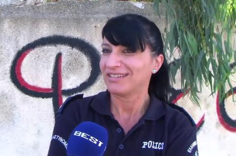 ArgolidaPortal.gr Ναύπλιο-Η Αστυνομικός Μαρία Ψαρούλη: Ένιωσα ότι είναι ένα μωρό που θέλει προστασία