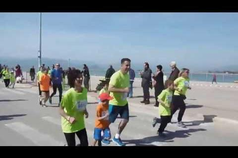 ArgolidaPortal.gr ΝΑΥΠΛΙΟ- Ο δήμαρχος Δ. Κωστούρος έτρεξε στον 4ο Μαραθώνιο 2017