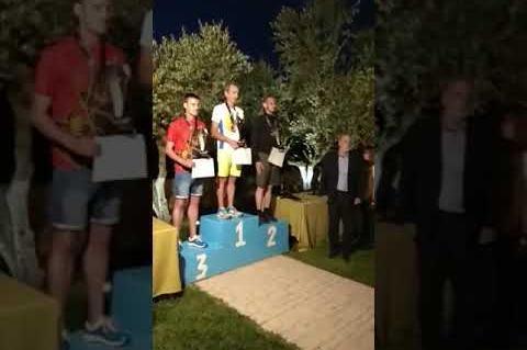 ArgolidaPortal.gr Ο Γιώργος Βλάχος πρώτος στον Ολύμπιο Δρόμο 2018