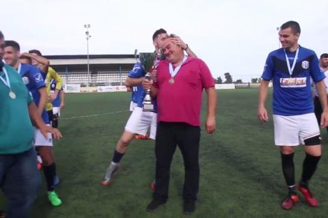 ArgolidaPortal.gr ΕΠΣ Αργολίδας - Απονομή Κυπέλλου στην πρωταθλήτρια Ένωση Λέρνας