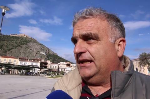 ArgolidaPortal.gr 'Αργος- Νίκος Γκαβούνος δήλωση για Μακεδονία και αναχώρηση για το συλλαλητήριο