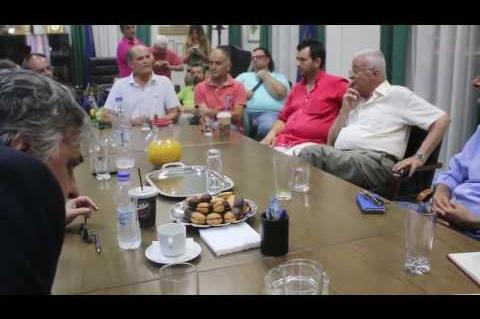 ArgolidaPortal.gr ΑΡΓΟΣ-Βερναρδάκης με φορείς στο Επιμελητήριο Αργολίδας