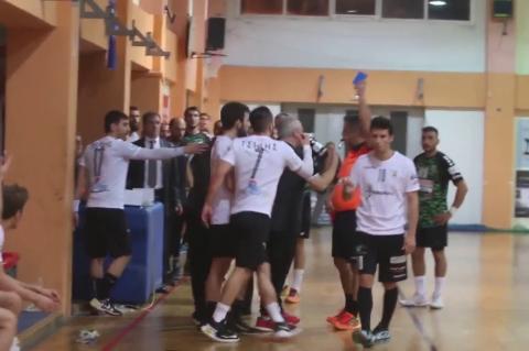 ArgolidaPortal.gr Χάντμπολ Διομήδης-ΠΑΟΚ 20-21