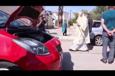 ArgolidaPortal.gr Ναύπλιο - Άγιασαν μηχανές και ΙΧ στην εορτή του Αγίου Χριστοφόρου