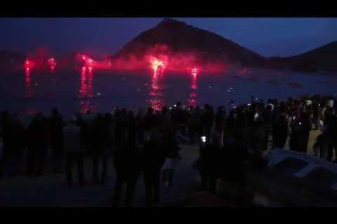 ArgolidaPortal.gr Έκαψαν τον Ιούδα στη θάλασσα