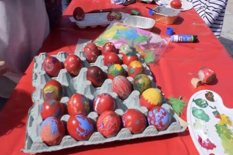 ArgolidaPortal.gr Ναύπλιο- Τα παιδιά έβαψαν πασχαλινά αυγά