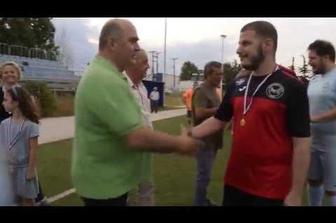 ArgolidaPortal.gr Απονομή κυπέλλου & μεταλλίων στις πρωταθλήτριες ομάδες της Β κατηγορίας