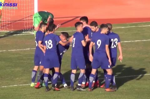ArgolidaPortal.gr Ναύπλιο-Εθνική Παίδων: Ελλάδα - Σλοβενία 2-1