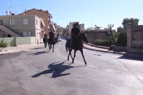 ArgolidaPortal.gr Άργος - Με άλογα και ποδήλατα η Ευρωπαϊκή Ημέρα Χωρίς Αυτοκίνητο