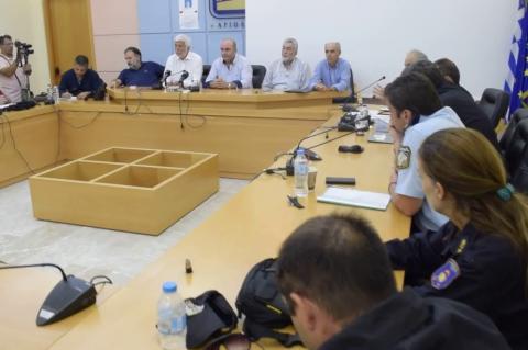ArgolidaPortal.gr Ναύπλιο-Συνεδρίαση της Πολιτικής Προστασίας ΠΕ Αργολίδας παρουσία Τατούλη