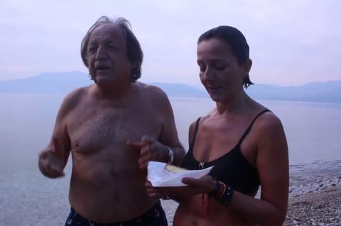 ArgolidaPortal.gr Οι Χειμερινοί κολυμβητές έκοψαν την πίτα τους στην Αρβανιτιά