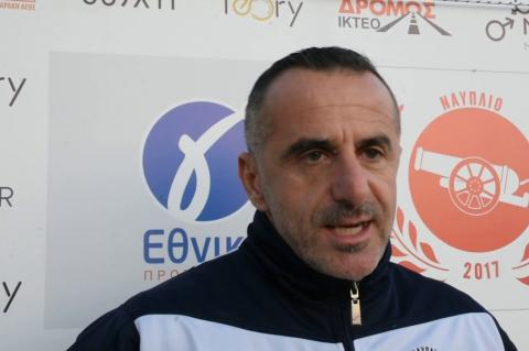 ArgolidaPortal.gr Γ Εθνική - Δήλωση του προπονητή Αλ. Μαντζούνη, Ναύπλιο 2017-Ολυμπιακός Ζαχάρως 2-0