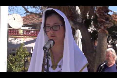 ArgolidaPortal.gr Ναύπλιο-Κατάθεση στεφάνων για την 25η Μαρτίου από μαθητές