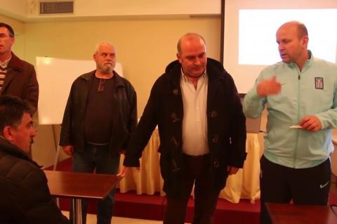 ArgolidaPortal.gr Τολό - Ξεκίνησαν οι σχολές προπονητών της ΕΠΟ στην Αργολίδα