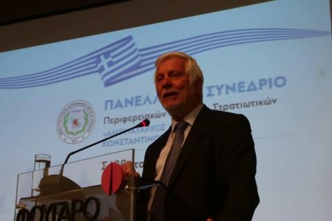 ArgolidaPortal.gr Ναύπλιο - Ομιλία Τατούλη στο Συνέδριο Περιφερειακών Στρατιωτικών Ενώσεων