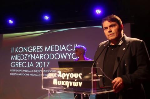 ArgolidaPortal.gr Άργος- Ο Δήμαρχος Δ.Καμπόσος στο Διεθνές Συνέδριο Διαμεσολάβησης