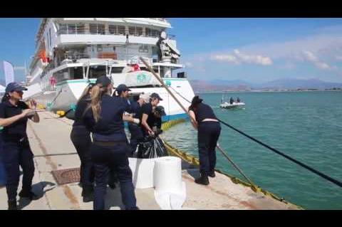 ArgolidaPortal.gr Ναύπλιο-Άσκηση του λιμενικού για θαλάσσια ρύπανση στο λιμάνι