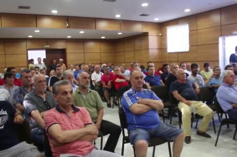 ArgolidaPortal.gr Ναύπλιο-ομιλία δήμαρχος Κωστούρος λαϊκή συνέλευση για Πανναυπλιακό